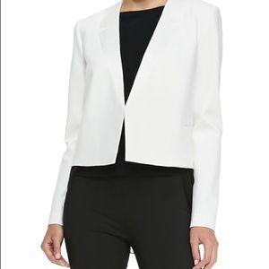Nabiel C Boxy Suit Jacket in Ivory
